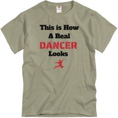 How dancer looks