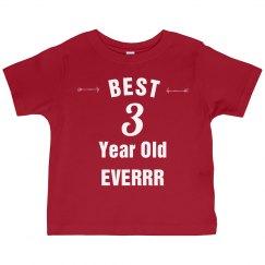 Best 3 year old everrr