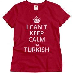 I'm Turkish