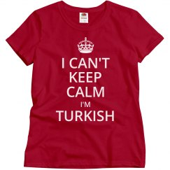 I'm Turkish