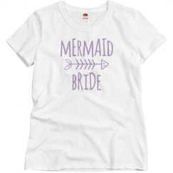 mermaid bride tee