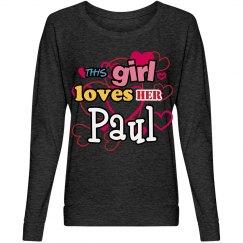 This girl loves Paul!