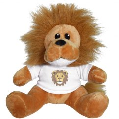 Lion Face Small Plush Lion