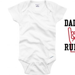 Daddy Rules Onesie