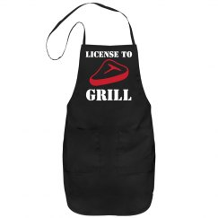 License To Grill Apron