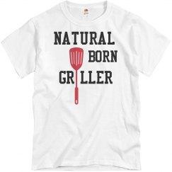 Natural Born Griller Tee
