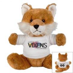 """Stuffed Kitty """"Future"""" Vixen Logo"""