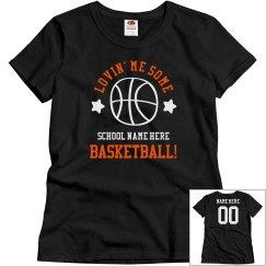 Lovin' Custom Basketball Tee