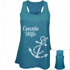 Coastie Wife Tank