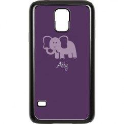 Purple Elephant With Name