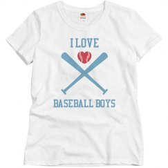 Love baseball boys
