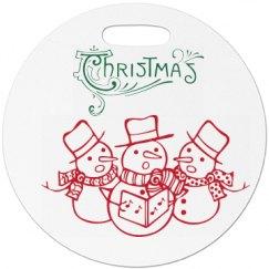 Christmas Luggage Tag
