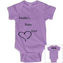 Daddy's baby girl onesie