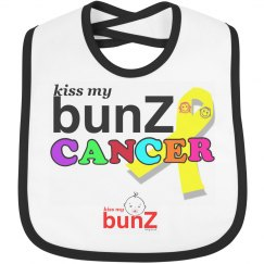 kissmybunZCANCER Bib