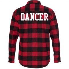 Flannel Dancer Top