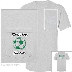 Drifters Soccer Pocket T