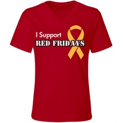 I Support Red Fridays