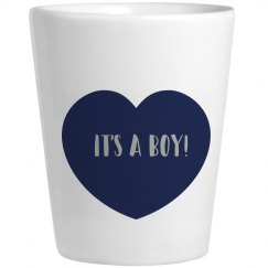 Its a Boy Shot Glass
