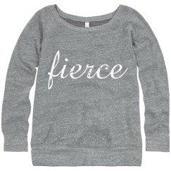 Fierce Sweatshirt Gray