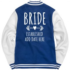 Official Custom Bride Denim Jacket