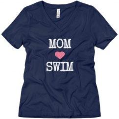 Mom loves swim