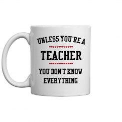 Teachers know all