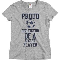 Proud soccer girlfriend