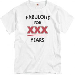 Fabulous for 30 years