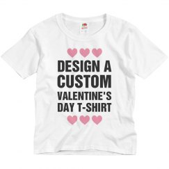 Design A Custom Valentine's Day Tee
