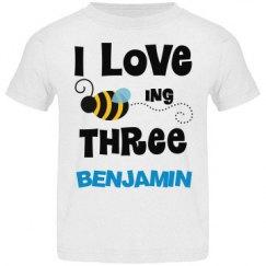 3rd Birthday Honey Bee