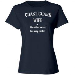 Coast guard wife cooler