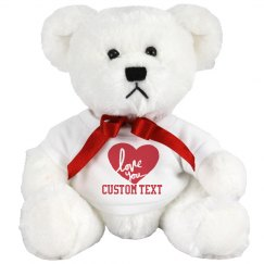 Custom Valentine's Day Bear