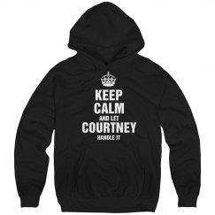 Let Courtney handle it