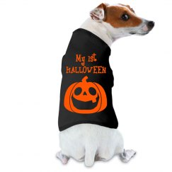 Dogs First Halloween