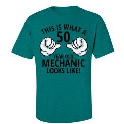50 year old Mechanic