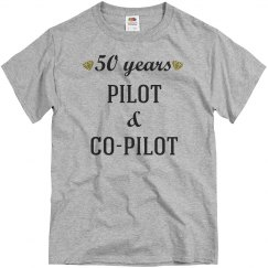 50th anniversary pilot & co-pilot