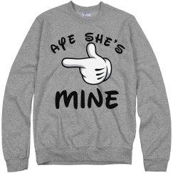 Aye She's Mine Glove
