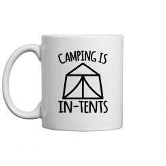 Camping Is In-Tents Mug