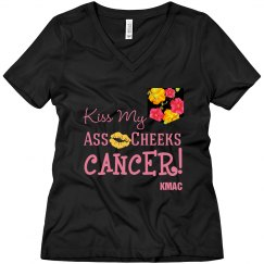 Ladies KMAC CANCER TSHIRT