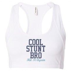 Cool Stunt Blue Sports