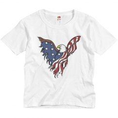 Youth Fourth of July Eagle