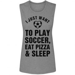 Soccer Girl Problems Tank