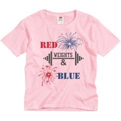 Red Weights and Blue