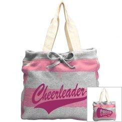 Striped Cheerleader Bag