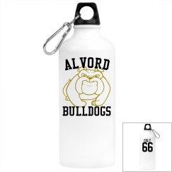 Alvord Bulldog water bottle