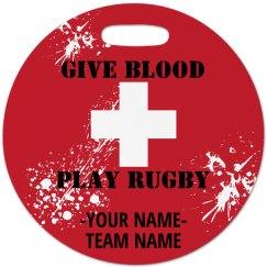 Rugby Bag Tag