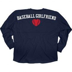 Baseball Jersey Girlfriend