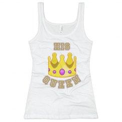 His Queen Cami Nighty Emoji Tee