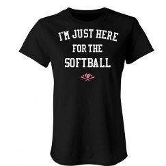 I'm just here for the softball