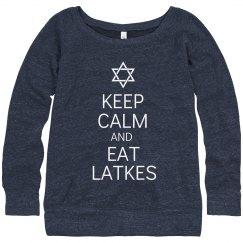 Keep Calm & Eat Latkes